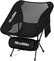 Portable Ultralight Camping Chair,Outdoor Folding Chairs with Carry Bag,242lb Capacity,Backpacking for Outdoor