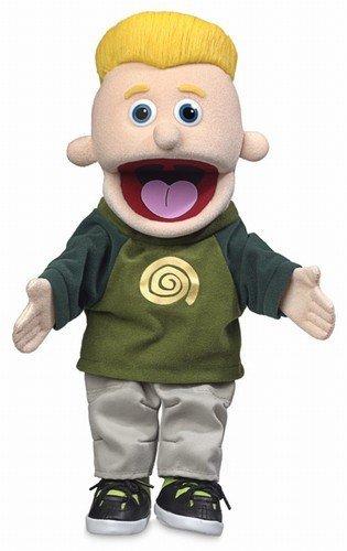 14'' Eddie, Peach Boy, Hand Puppet by Silly Puppets