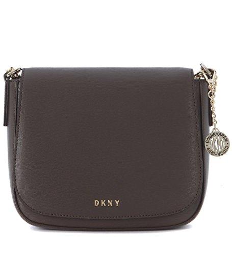 Dkny Women's Dkny Medium Brown Saffiano Leather Shoulder Bag Brown