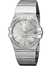 Men's 123.10.35.20.02.001 Constellation 09 Chronometer Silver Dial Watch