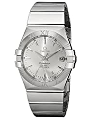 Omega Men's 123.10.35.20.02.001 Constellation 09 Chronometer Silver Dial Watch
