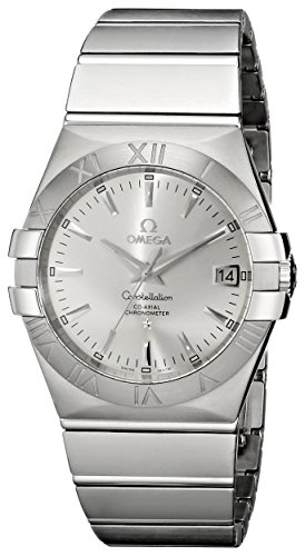 - Omega Men's 123.10.35.20.02.001 Constellation 09 Chronometer Silver Dial Watch