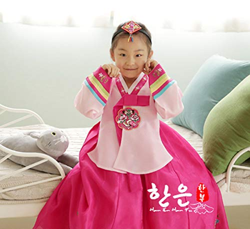 Amazon Korean Hanbok Dress For Girl Birthday Party