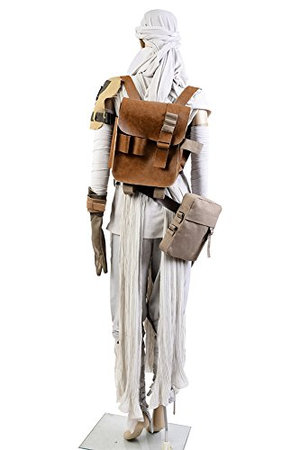 Rey Cosplay Costume with Headgear