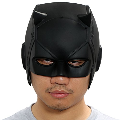 xcoser DD Matt Mask Helmet Props for Adult Halloween Costume PVC DIY]()