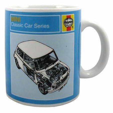 Mini Cooper Mug, Haynes Classic Car Series: Amazon.co.uk: Kitchen & Home