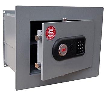 Caja fuerte 102 E PLUS Modelo para empotrar con cerradura electrónica de alta seguridad y bulones