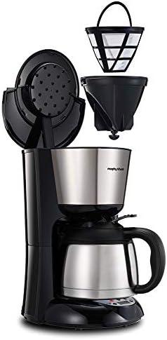 Morphy Richards M162771EE/M162772EE Filtro de cafetera, 240 W, plástico, Termo cepillado: Amazon.es: Hogar