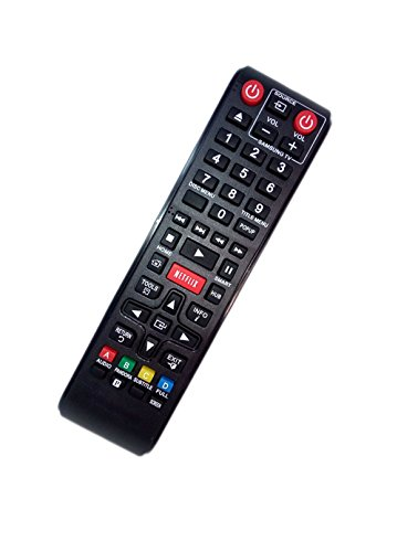 Replaced Remote Control Compatible for Samsung BD-E5900/ZA AK5900167A BDEM57 BD-F5900 BD-F7500/XU BD Blu-Ray DVD Disc Player