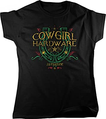 Cowgirl Hardware, Lucky Horseshoe Women's T-shirt, NOFO Clothing Co.