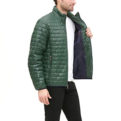 Tommy Hilfiger Men's Lightweight Quilted Ultra Loft Packable Puffer Jacket