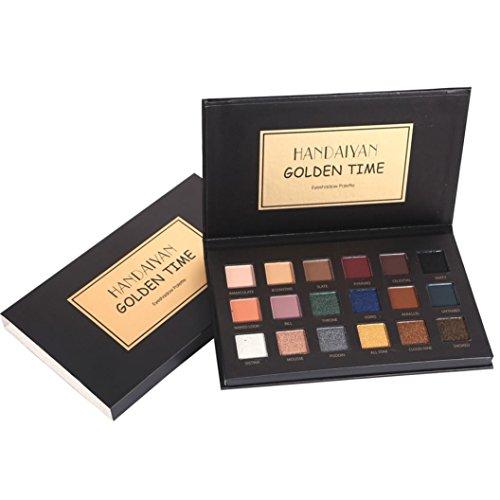 18 Colors Eye-Shadow Makeup Pearl Metallic Palette (Emo Makeup Halloween)