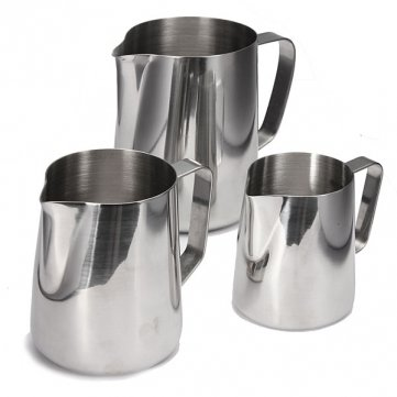 High Quality Coffee Cappuccino Milk Tea Frothing Jug Garland Cup Latte Jug Craft Cesis SKUTM1144246