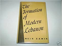 The Formation of Modern Lebanon
