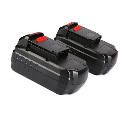 ANTRobut 2pack 18V 3.0Ah Replacement Battery for Porter Cable PC18B-2 18-Volt Cordless Tools Batteries