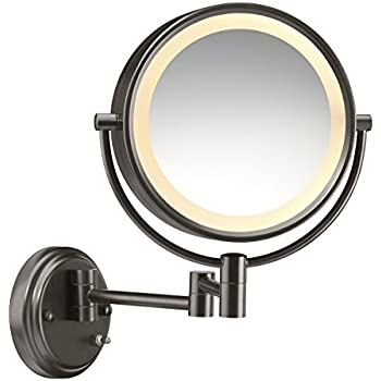 Amazon Com Dowry Oil Rubbed Bronze Wall Mount Magnifying