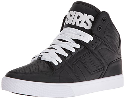 Osiris NYC 83 Vulc Shoes - Black / White / White-UK 10