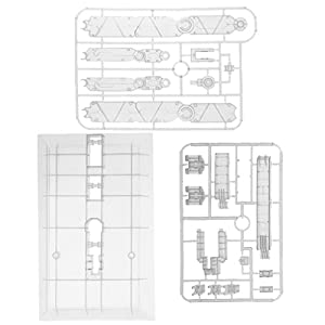 MagiDeal Action Base Display Stand Hold For 1/60 1/100 PG MG Gundam Figure Model Toy - Clear
