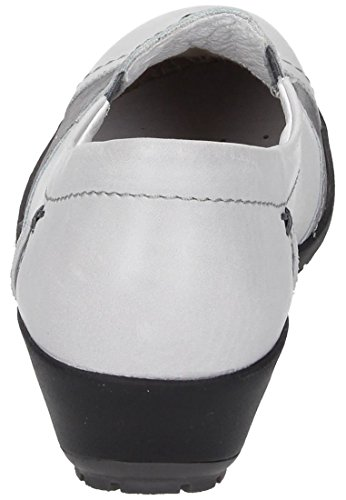 Comfortabel Damen Slipper Grau