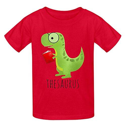 Thesaurus Funny Unisex Crew Neck Print T Shirts Red (Powerpuff Girls Sexy)