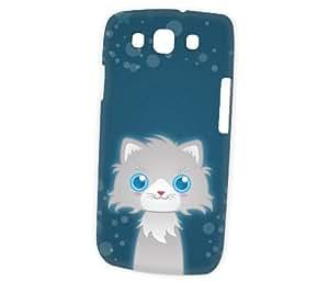 Case Fun Samsung Galaxy S3 (i9300) Case - Vogue Version - 3D Full Wrap - Persian Cat by DevilleART