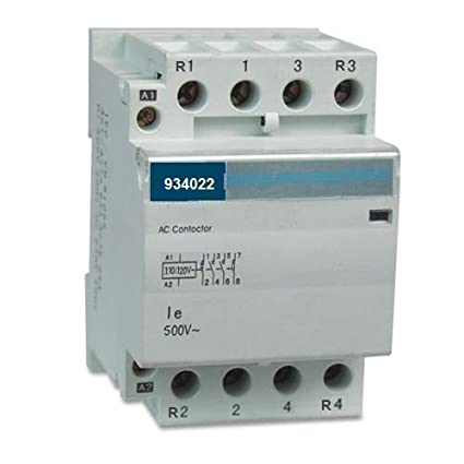 Contactor 2NO 2NC 4 Pole 2x2 Control 120V Coil, 50A 60Amp 40A 32Amp on single pole switch wiring diagram, 4 pole trailer wiring diagram, 4 pole switch diagram, 4-pole motor wiring, hvac fan relay wiring diagram, 3 phase delta motor wiring diagram, 2 pole motor wiring diagram, single pole contactor diagram, 2 speed motor wiring diagram, solid state contactor wire diagram, single phase reversing contactor diagram, lighting contactor diagram, power pole wiring diagram, star delta motor starter wiring diagram, magnetic motor starter wiring diagram, 220v gfci breaker wiring diagram, 4-way switch wiring diagram,