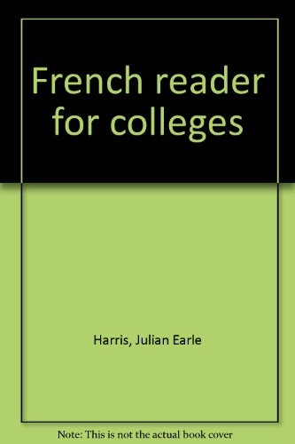French reader for colleges