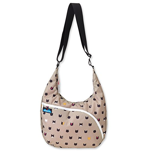 KAVU Singapore Satchel Backpack, Cattitude, One Size (Kavu Rope Bag Brown)