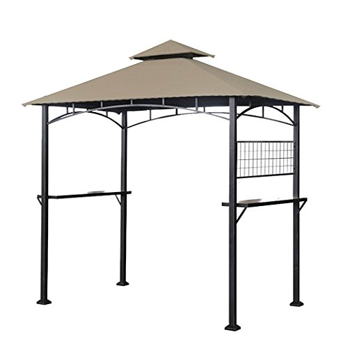 Tile Grill Gazebo Replacement Canopy - RipLock 350