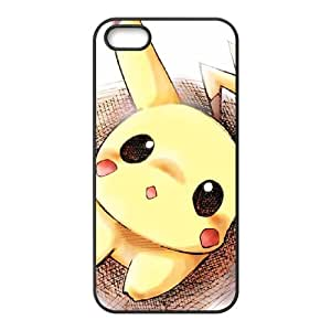 iPhone 4 4s Cell Phone Case Black Pikachu nvtl