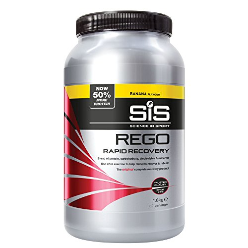 (Science in Sport Rego Rapid Recovery Banana Drink Powder 1600g by Sis)