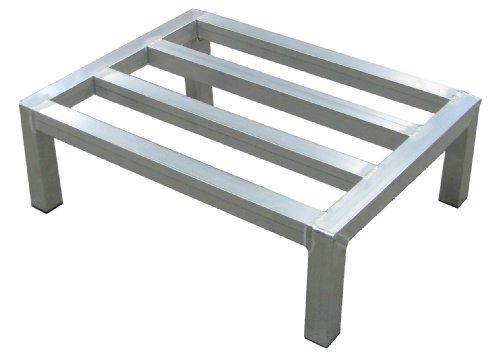 Lockwood DR-2036-12 Aluminum Dunnage Rack, 2000 lbs Load Capacity, 36