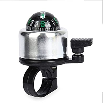 NszzJixo9 Bicycle Metal Bell Ring Popular Bike Cycling Sport Handlebar Compass Ring-Down Horn Bicycle Bell,Loud Crisp Clear Sound Bike Ring Horn Accessories