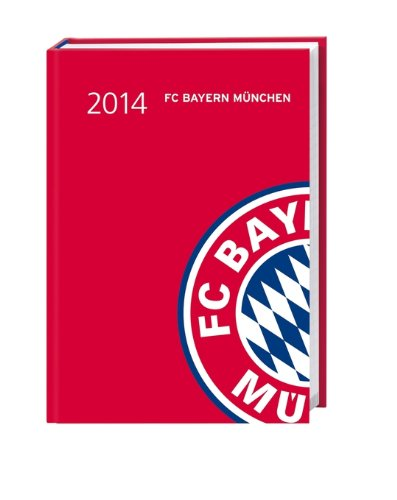 FC Bayern Kalenderbuch A6 2014: 17-Monats-Kalender