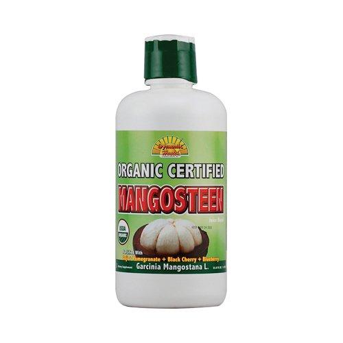 Dynamic Health - Dynamic Health Organic Certified Mangosteen Juice Blend - 33.8 fl (Organic Mangosteen Blend)