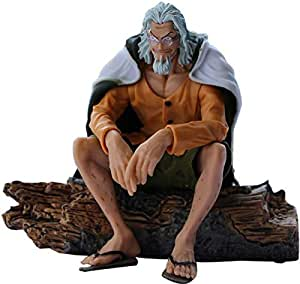 Antitoy Silvers Rayleigh Action Figure From One Piece Anime - 12 Years And Above