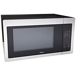 Whirlpool WMC30516AS 1.6 Cu. Ft. Stainless Steel Countertop Microwave