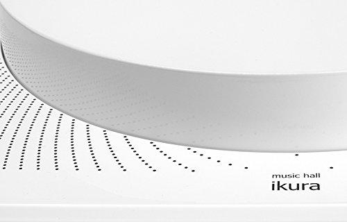 Music Hall Ikura Split-Plinth Design Belt Driven Turntable (Gloss White)