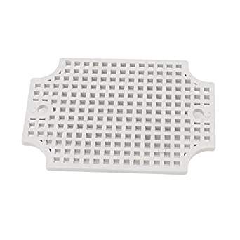 Alcoa PrimeGray Plastic Mesh Enclosure Mounting Plate for