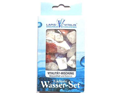 Edelstein Wasser-Set Vitalität-Mischung