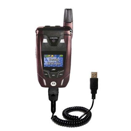 amazon com coiled power hot sync usb cable for the motorola i880 rh amazon com Nextel Phones Nextel Phones