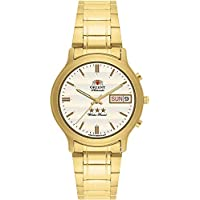 42acb46ea4a Relógio Masculino Orient Automático EM02A0-C1KX - Dourado