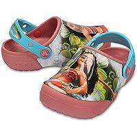 Crocs Infantil Clog FunLab Disney Moana, Rosa, Tamanho 25 BRA