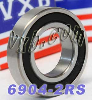 S6904-2RS Stainless Steel Sealed Bearing 20x37x9 Ball Bearings 16647