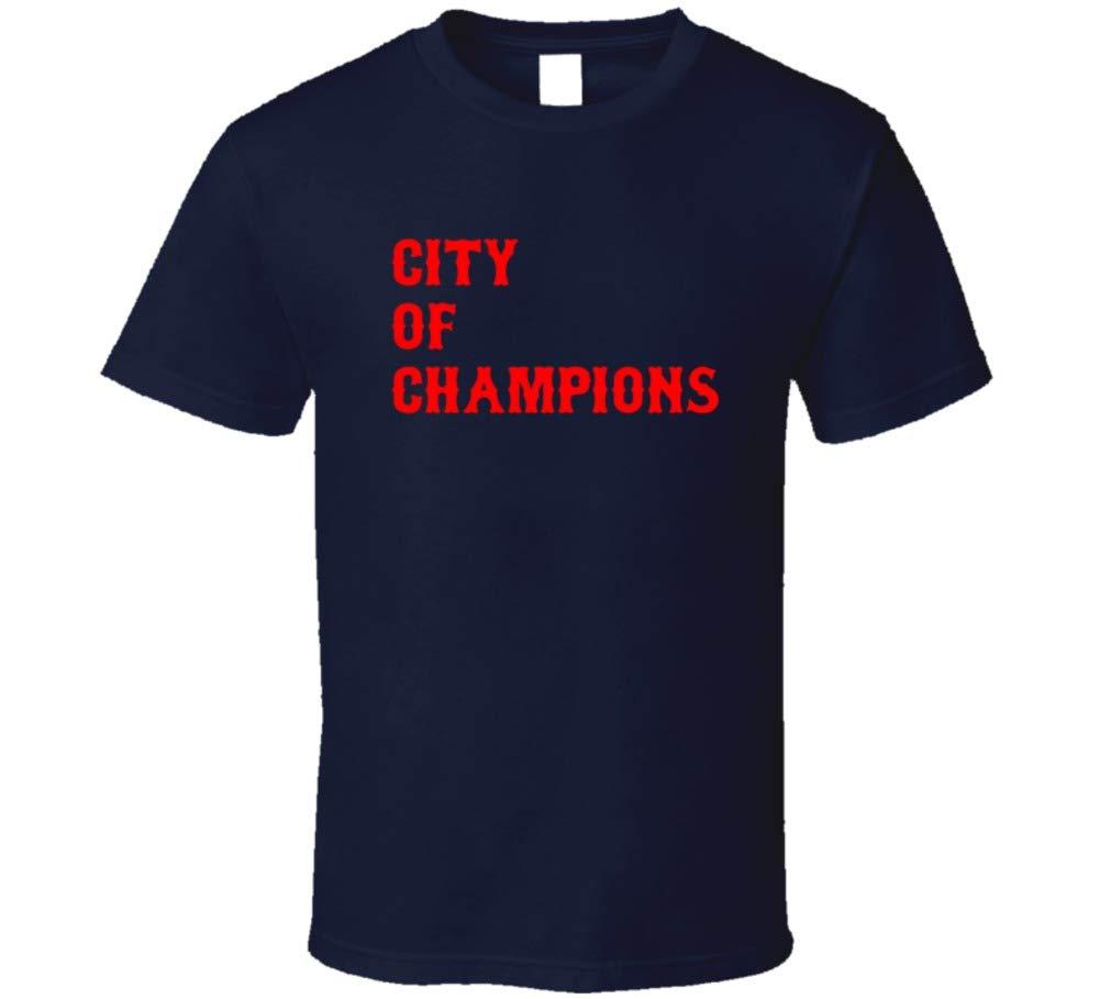 New England Boston City Of Champions T Shirt
