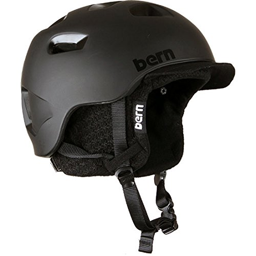 Bern 2015 G2 Zip Mold Helmet Matte Black Small/Medium by Bern