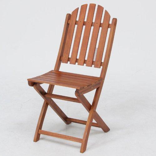 木製ガーデンチェア 2脚セット 81057x2 B00BT5M82I