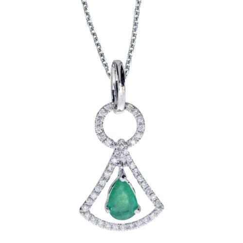 0.60 Ct Pear Diamond - 8