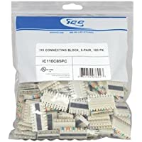 ICC ICC-IC110CB5PC 110 CONNECTING BLOCK, 5-PAIR, 100 PK