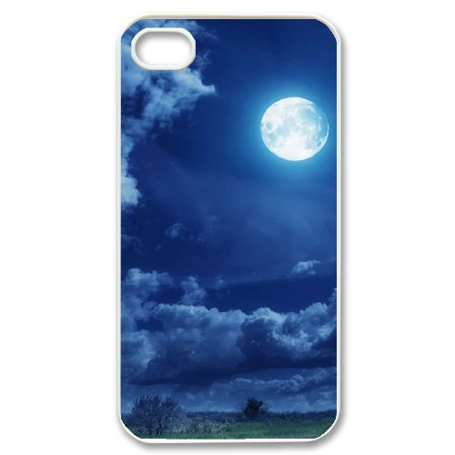 SYYCH Phone case Of Good Night Cover Case For Iphone 4/4s